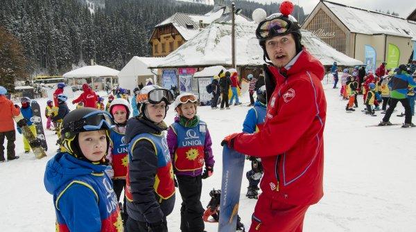 Půl-denní výjezdový lyžařský/SNB kurz